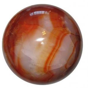 Oranje edelsteen, Carneool grote bol