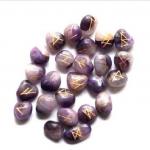Paarse edelsteen, Amethist Rune set
