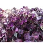 Paarse edelsteen, Fluoriet octaeder