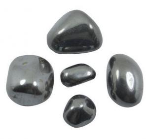 Edelstenen zwart zilver hematiet knuffelstenen