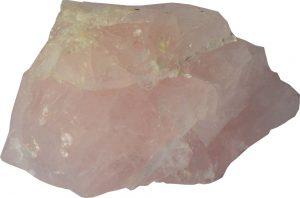 Roze edelstenen, rozenkwarts ruw