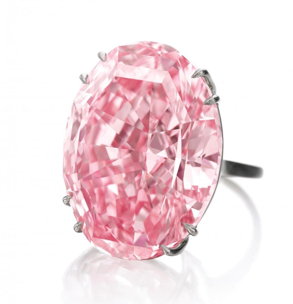 Roze edelsteen, Pink Diamond top 10 duurste edelstenen