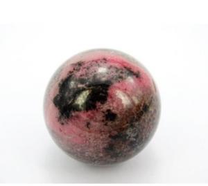 Roze edelsteen, Rhodoniet bol groot