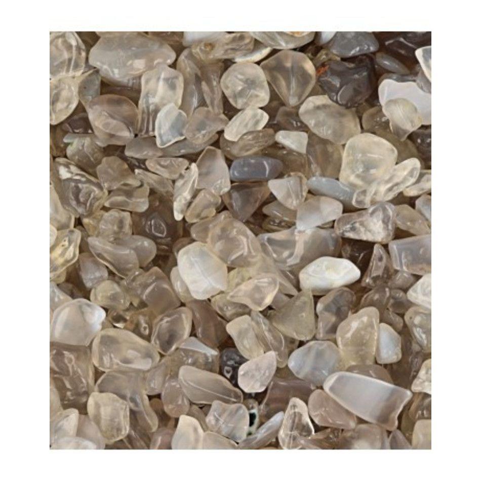 Agaat grijs 100 gr. trommelstenen (mt1)
