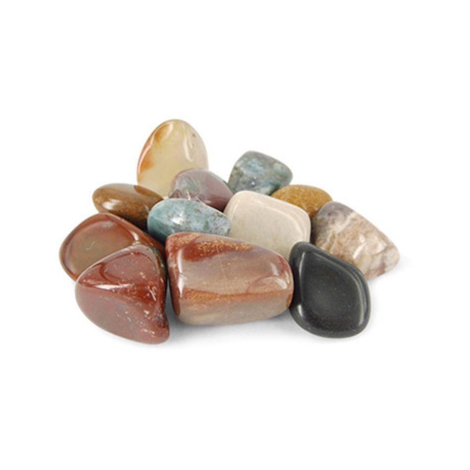 Agaat mix natuur trommelstenen (mt3)
