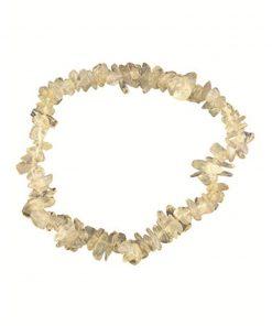 Agaat wit splitarmband