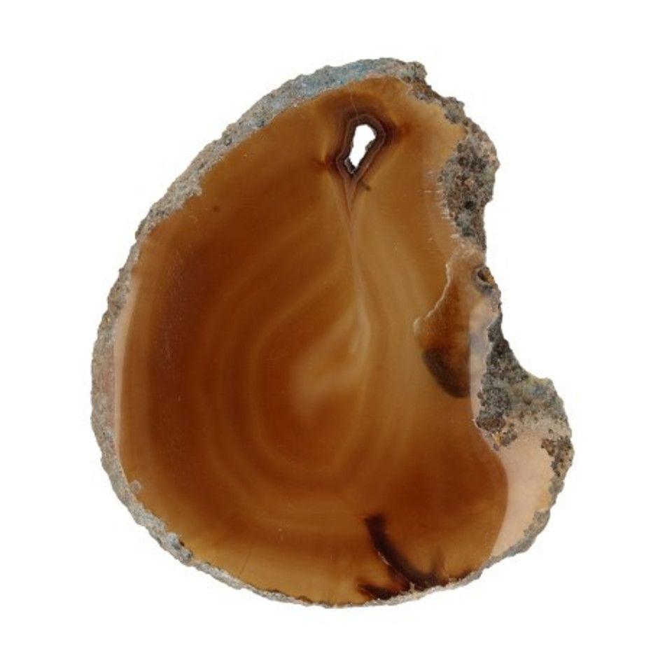 Agaatschijfje natuur mini