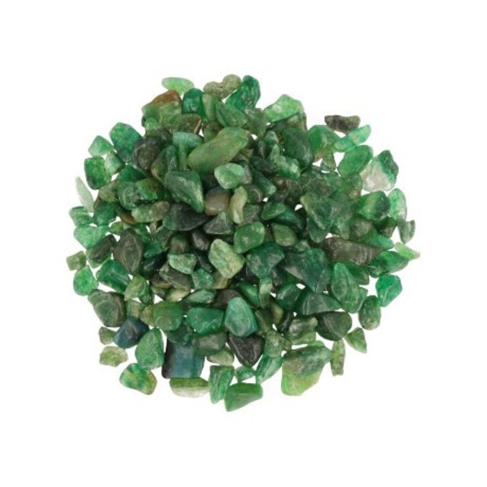 Aventurijn groen 100 gr. trommelstenen (mt1)
