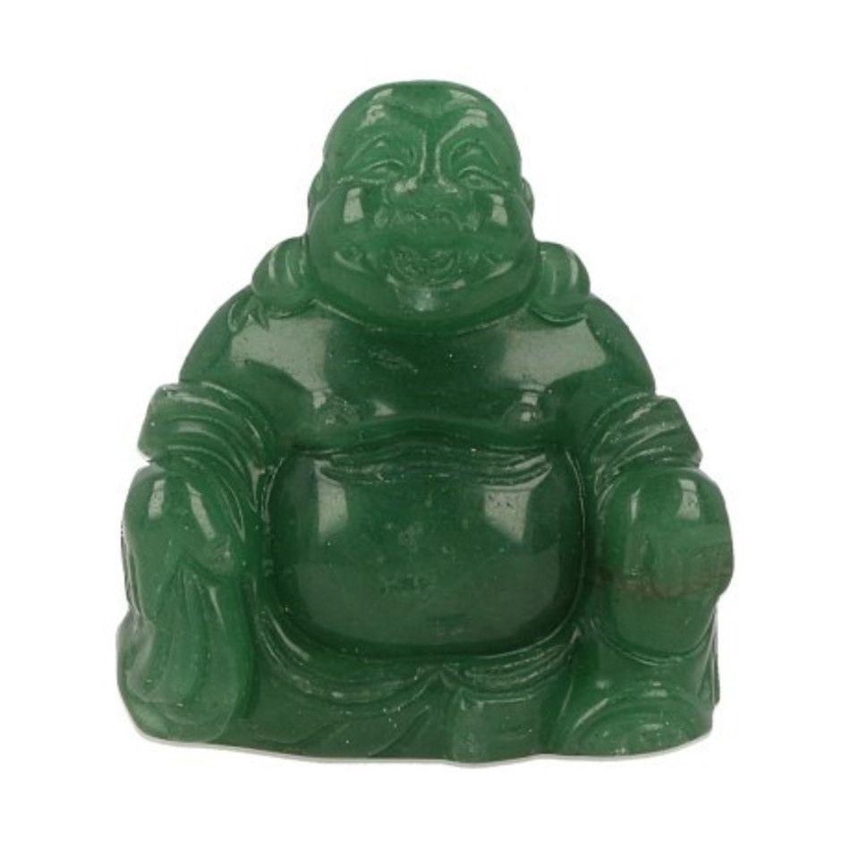 Aventurijn groen Boeddha 50 mm