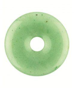 Aventurijn groen donut 30 mm