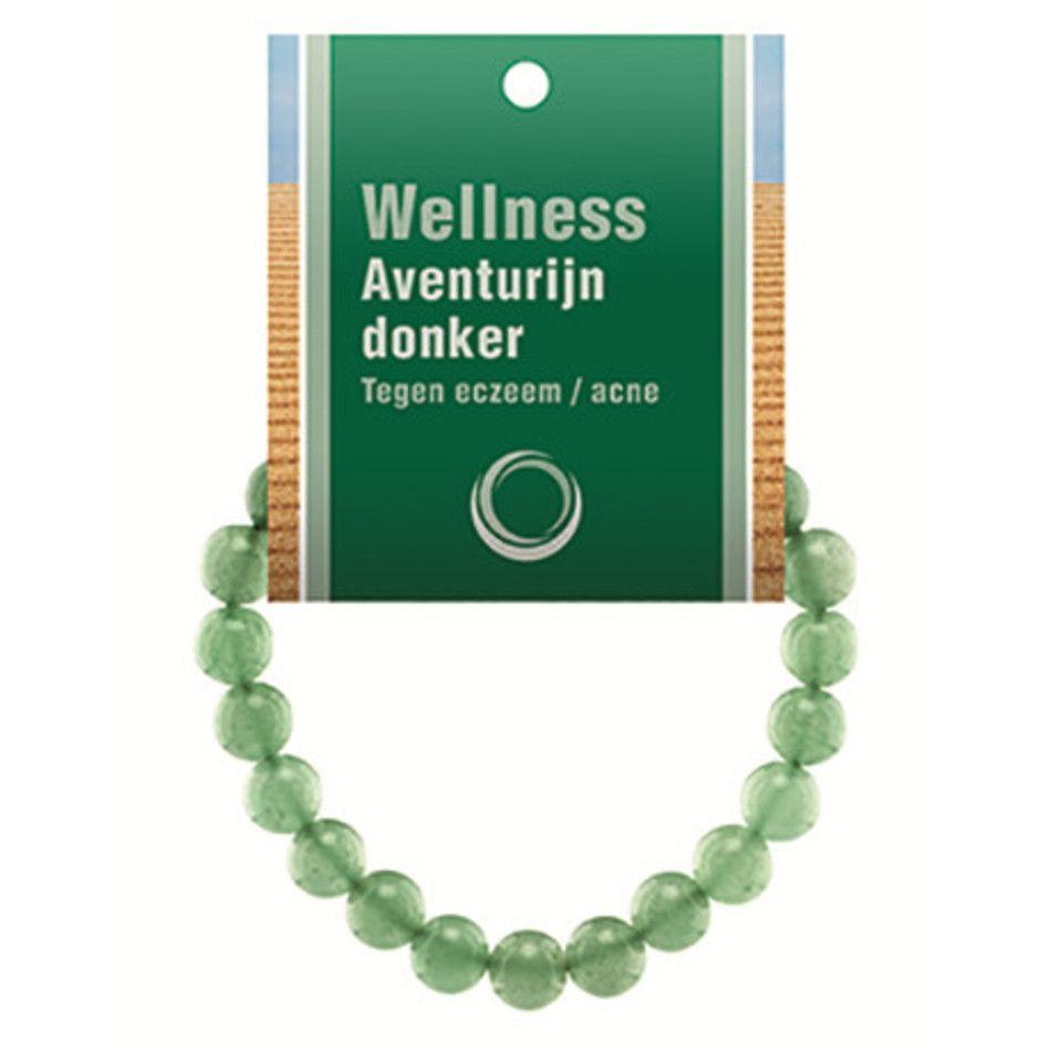 Aventurijn groen powerbead armband + kaart