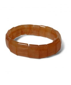 Aventurijn oranje fantasy armband plat