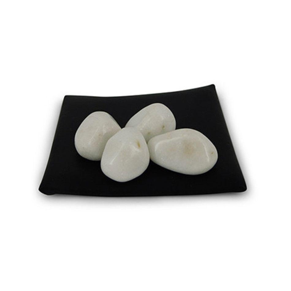 Aventurijn wit 50 gr. trommelstenen (mt3)