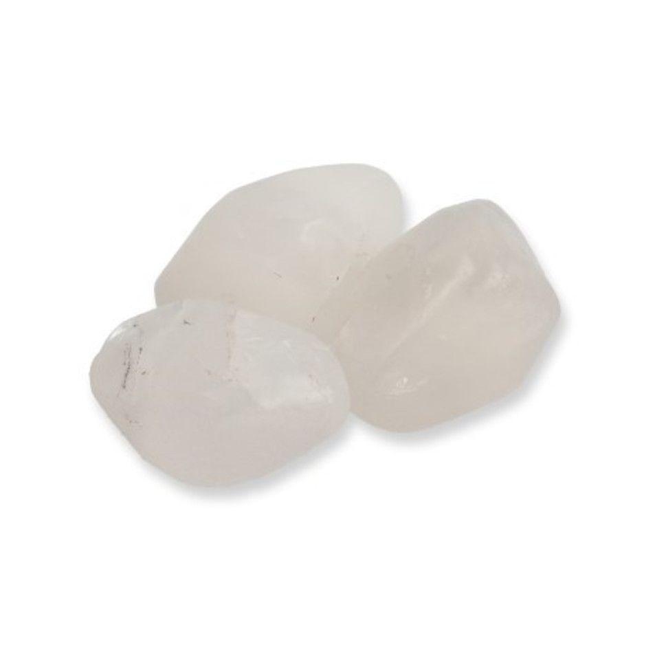 Azeztuliet trommelstenen (mt3), per gram