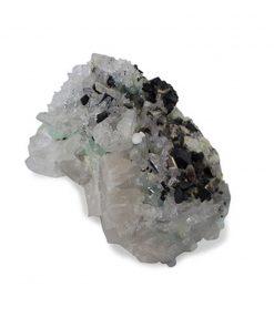 Babingtoniet, Prehniet, Himalaya Bergkristal, nr. 99