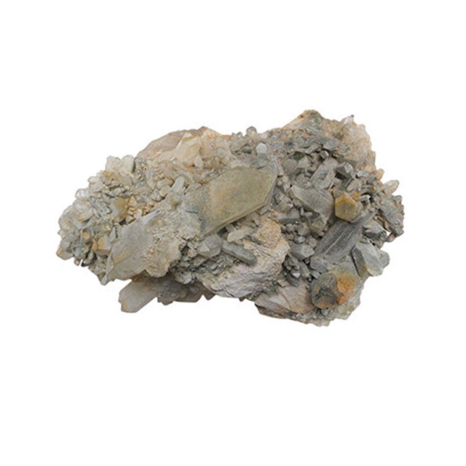 Bergkristal, Chloriet, Afghanistan, nr. 003