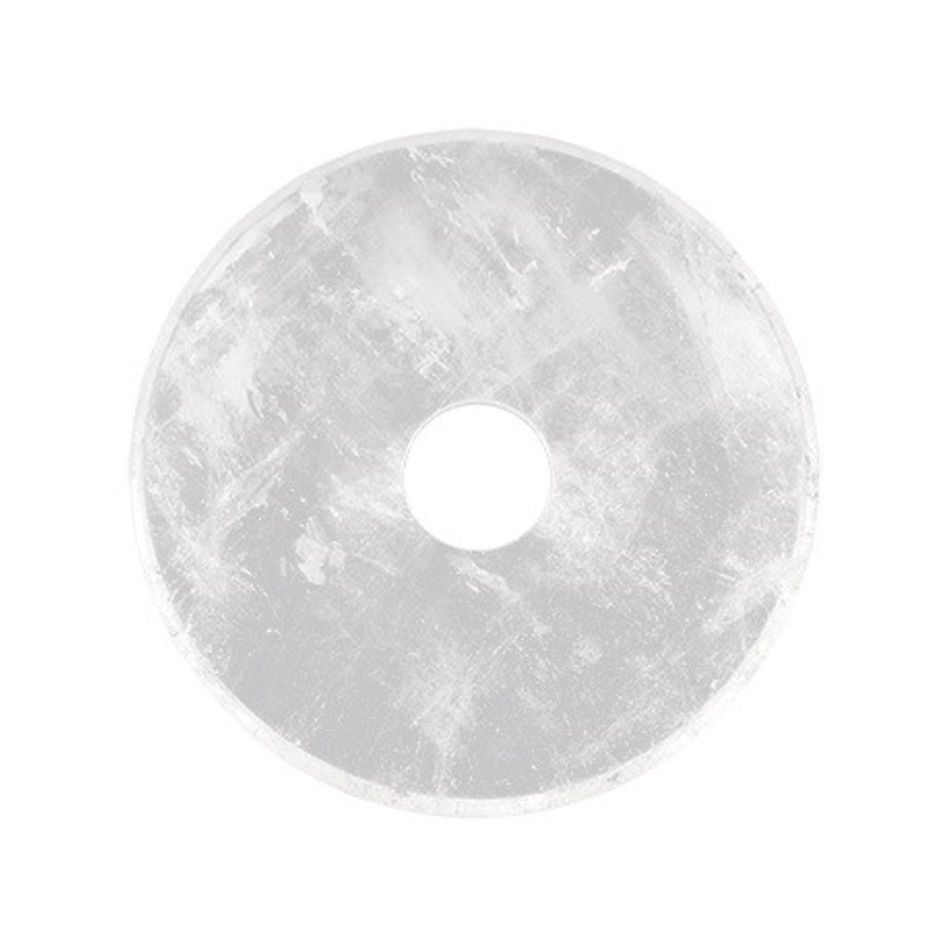 Bergkristal donut 30 mm