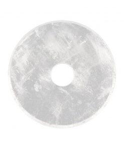 Bergkristal donut 50 mm