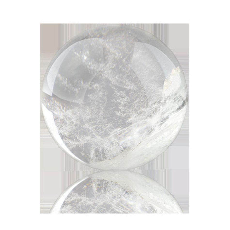 Bergkristal edelsteen bol 6-6,5 cm Madagaskar