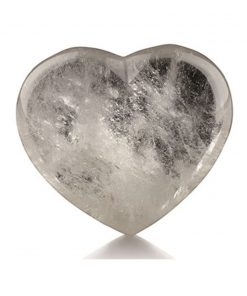 Bergkristal edelsteenhart 45 mm