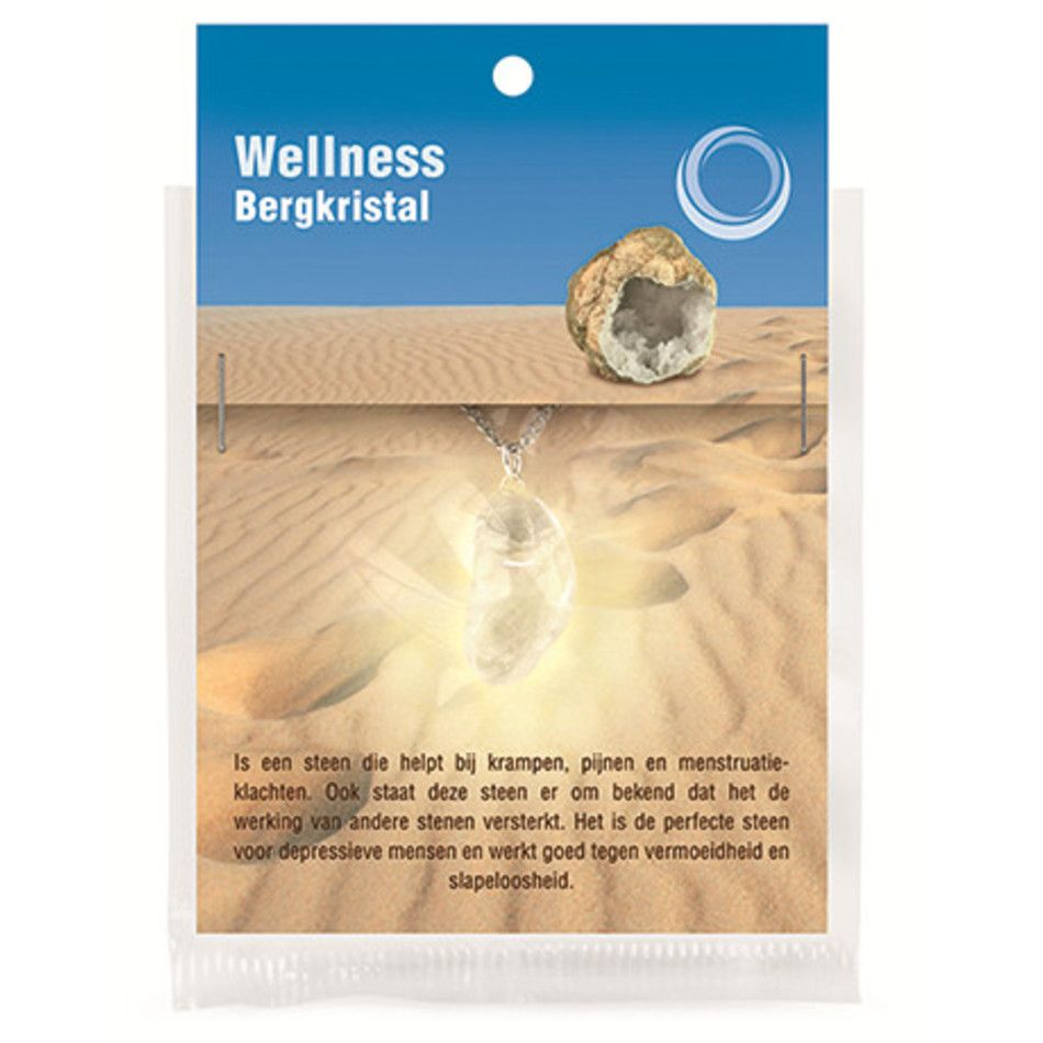 Bergkristal gezondheids hanger