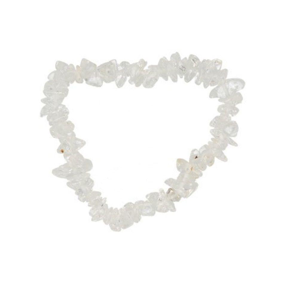 Bergkristal kinder armbandje split