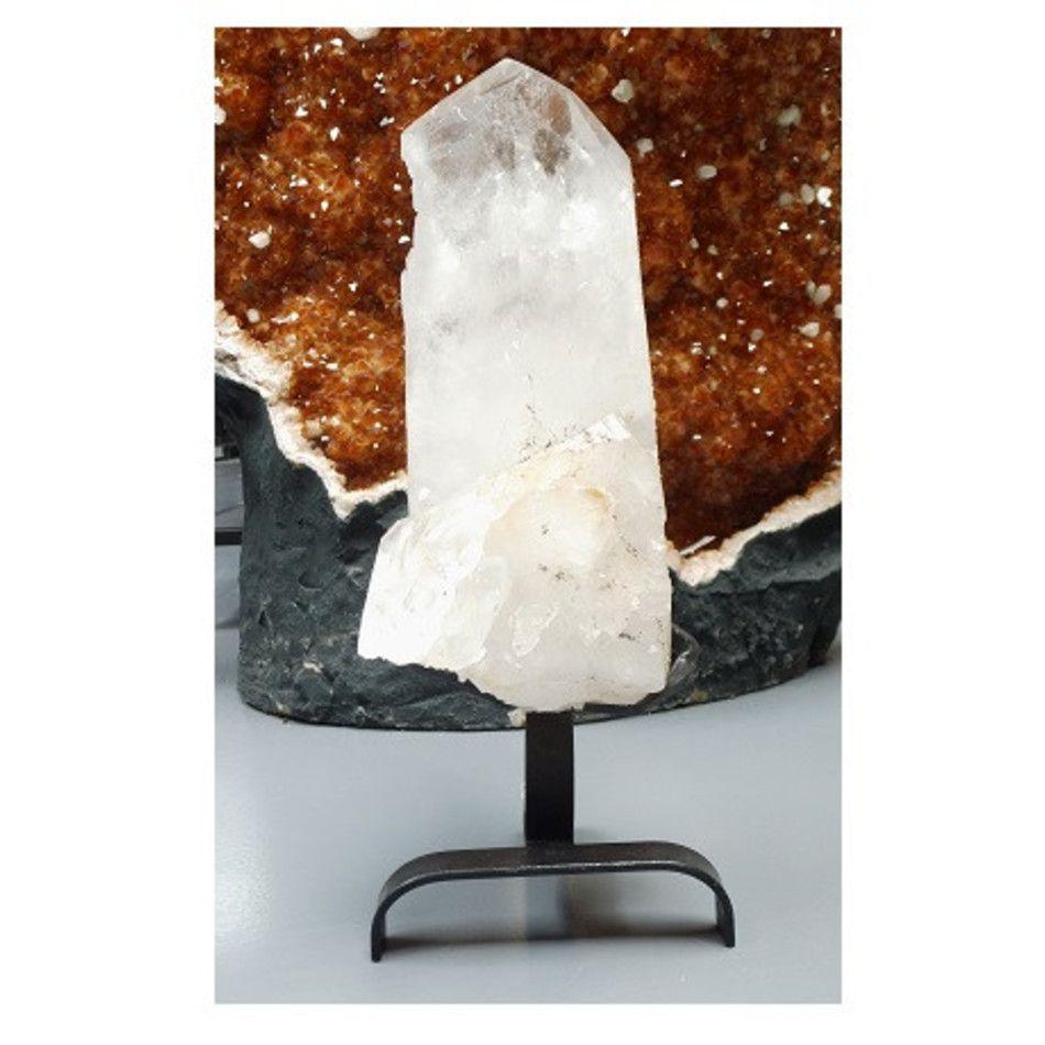 Bergkristal laser punt ruw nr.046