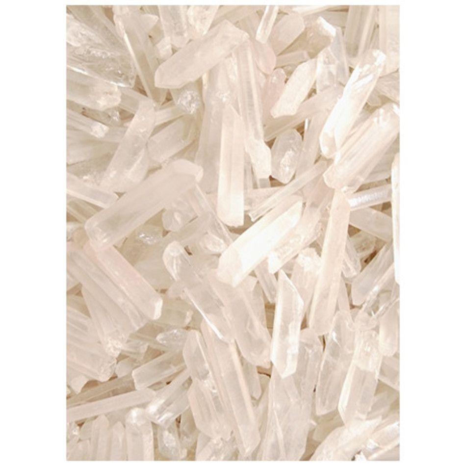 Bergkristal laser wand puntjes 100 gram