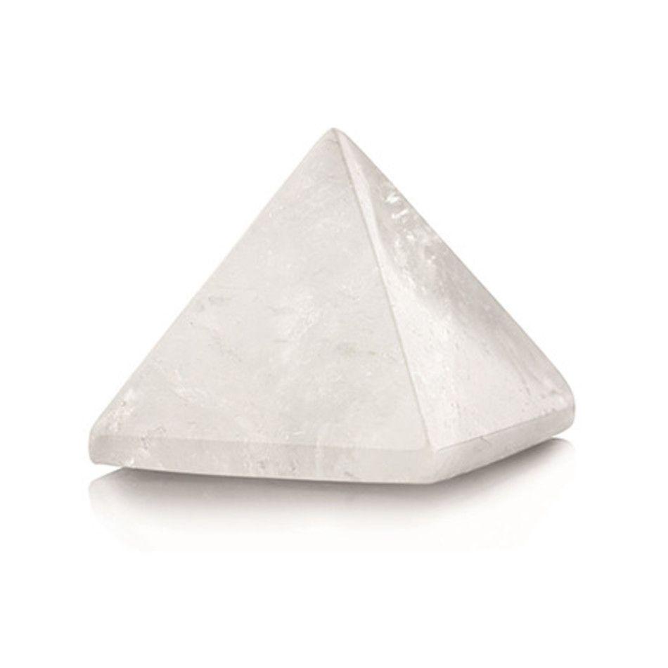 Bergkristal piramide 30 mm edelsteen