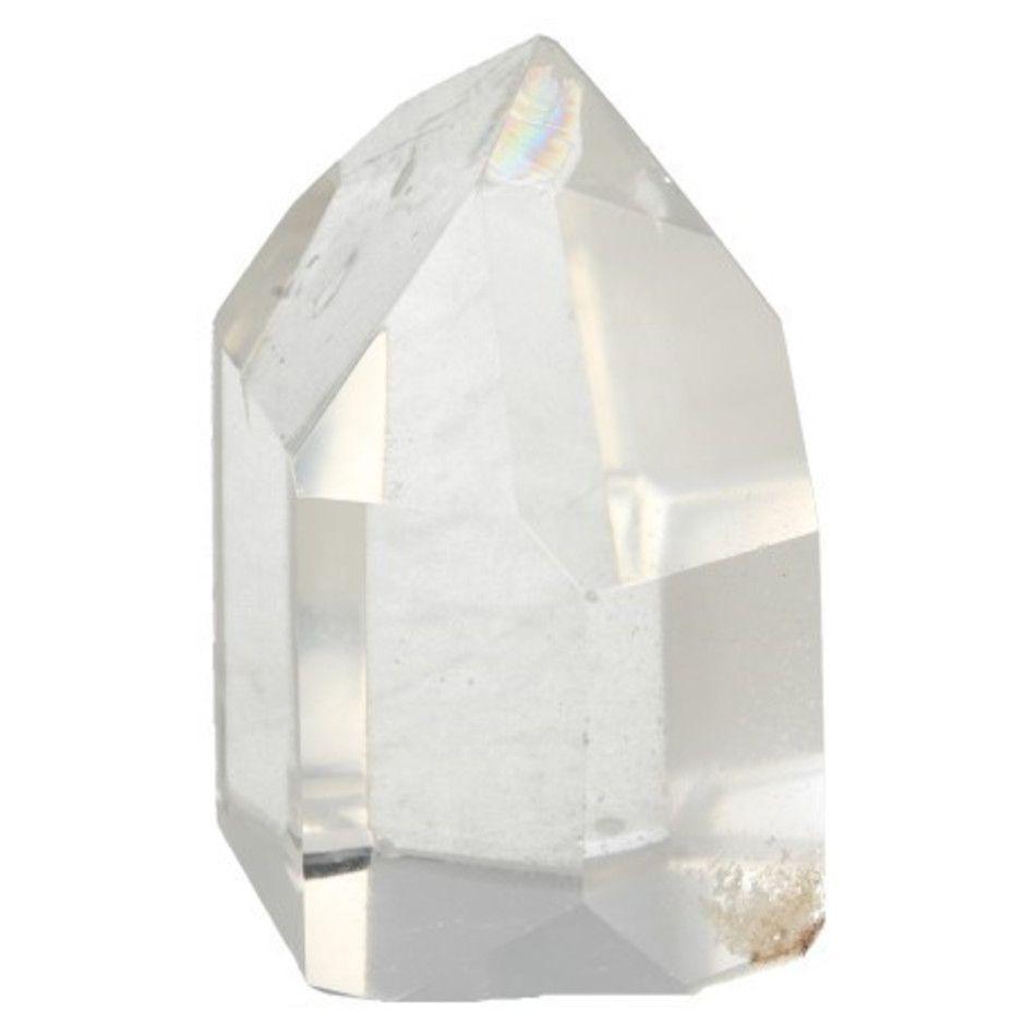 Bergkristal puntjes ruw AAA, per gram