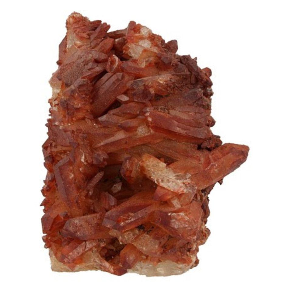 Bergkristal rood ruw nr.2