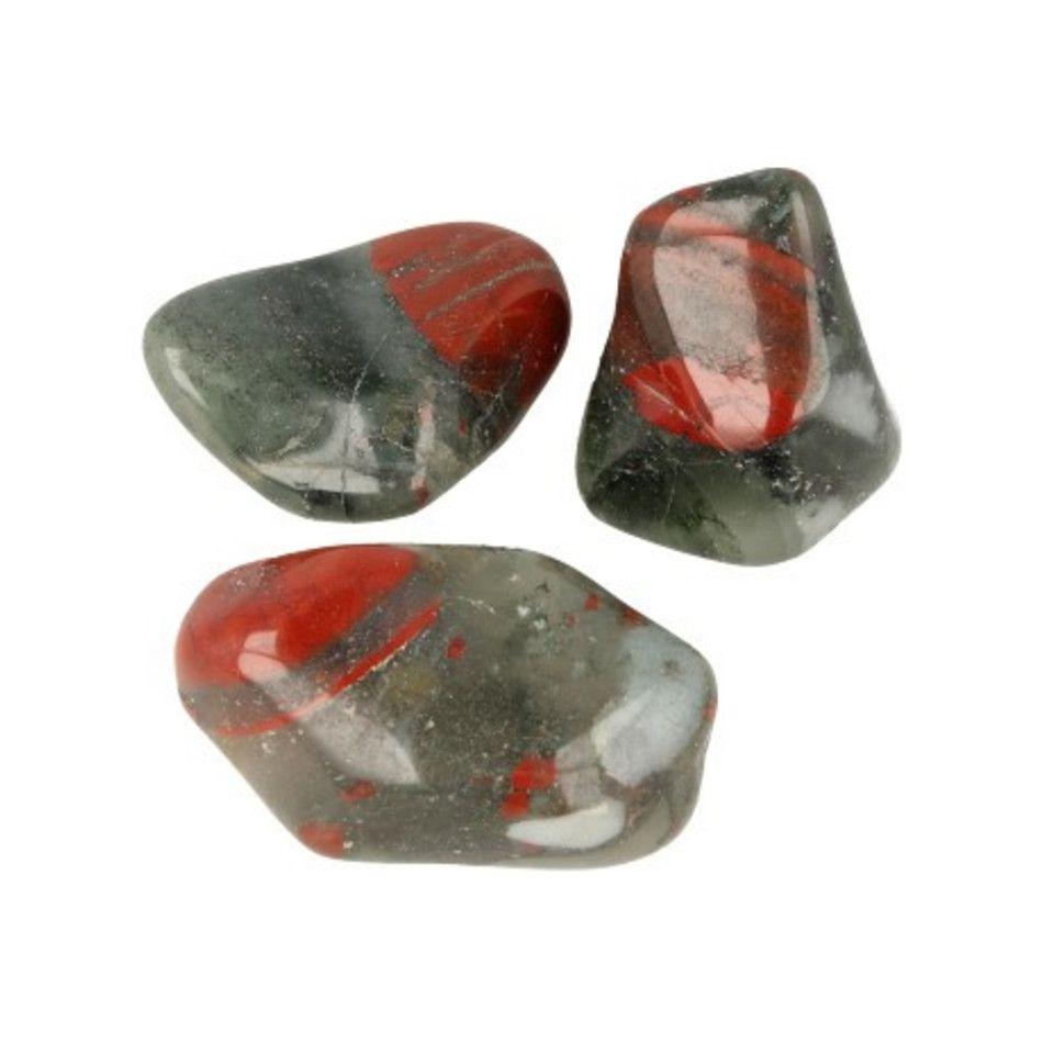 Bloedkwarts trommelstenen (mt3), p/kg