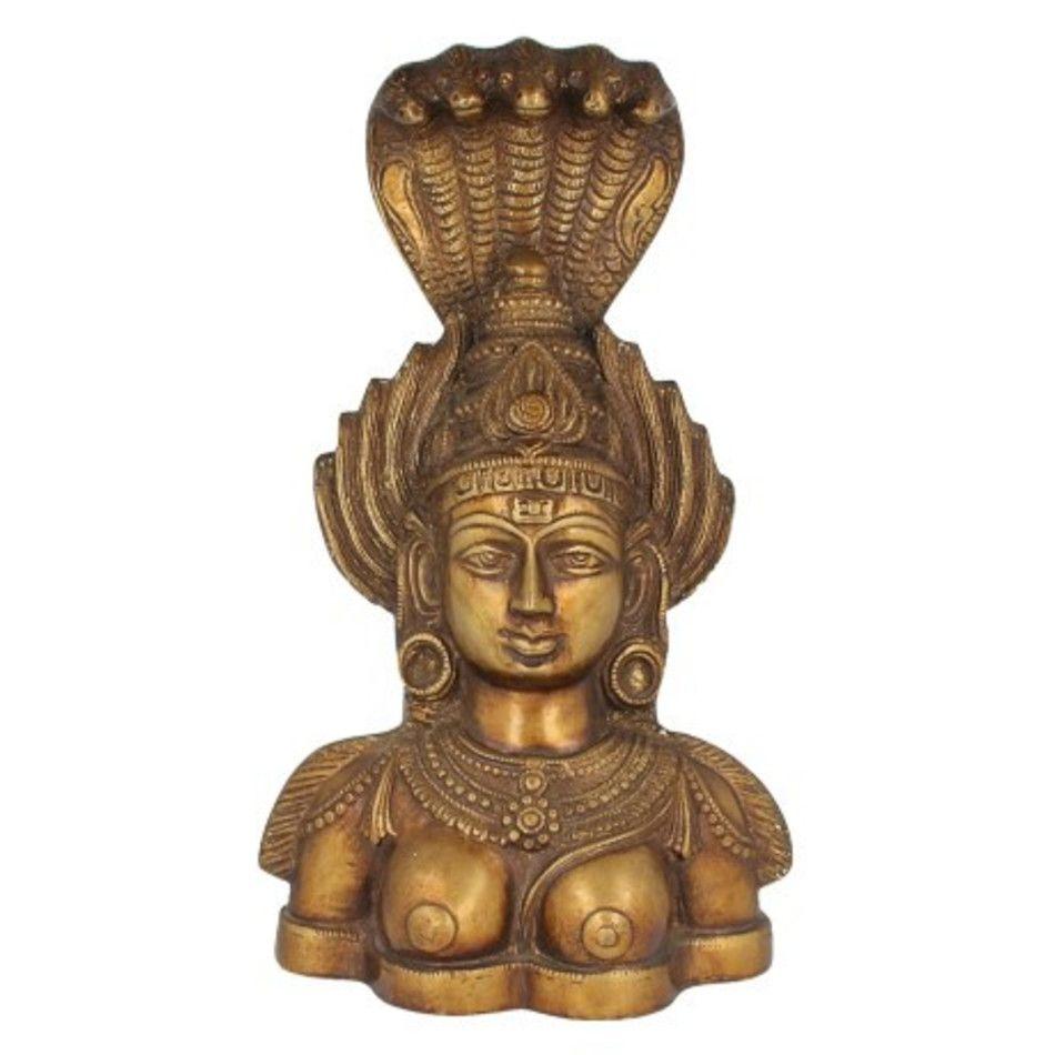 Boeddha 5 slangen beeld brons nr.76
