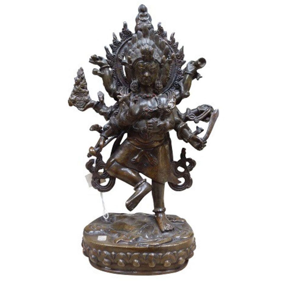 Boeddha beeld brons nr.9