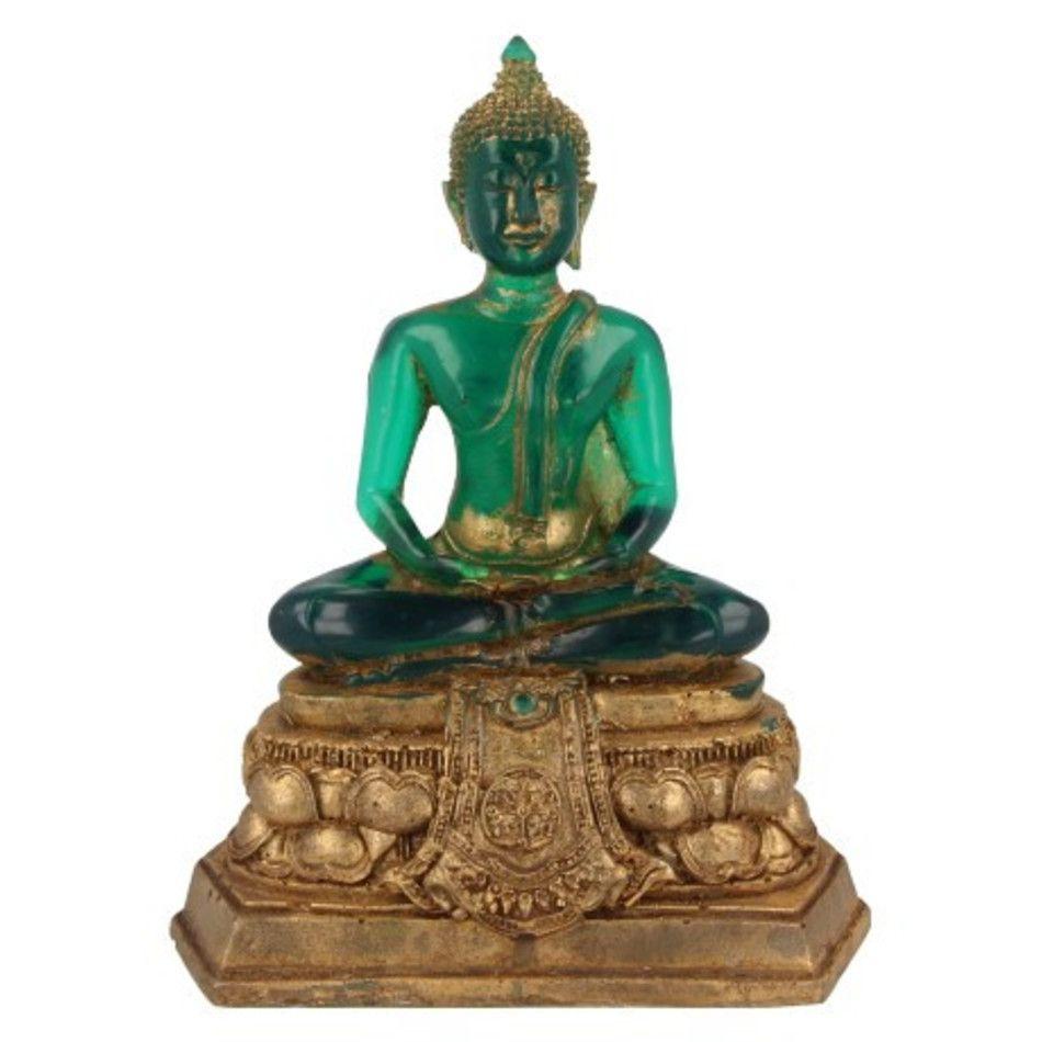 Boeddha groot groen