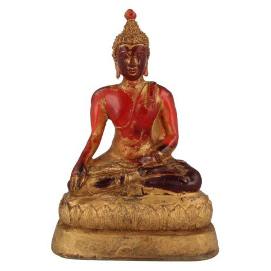 Boeddha groot rood