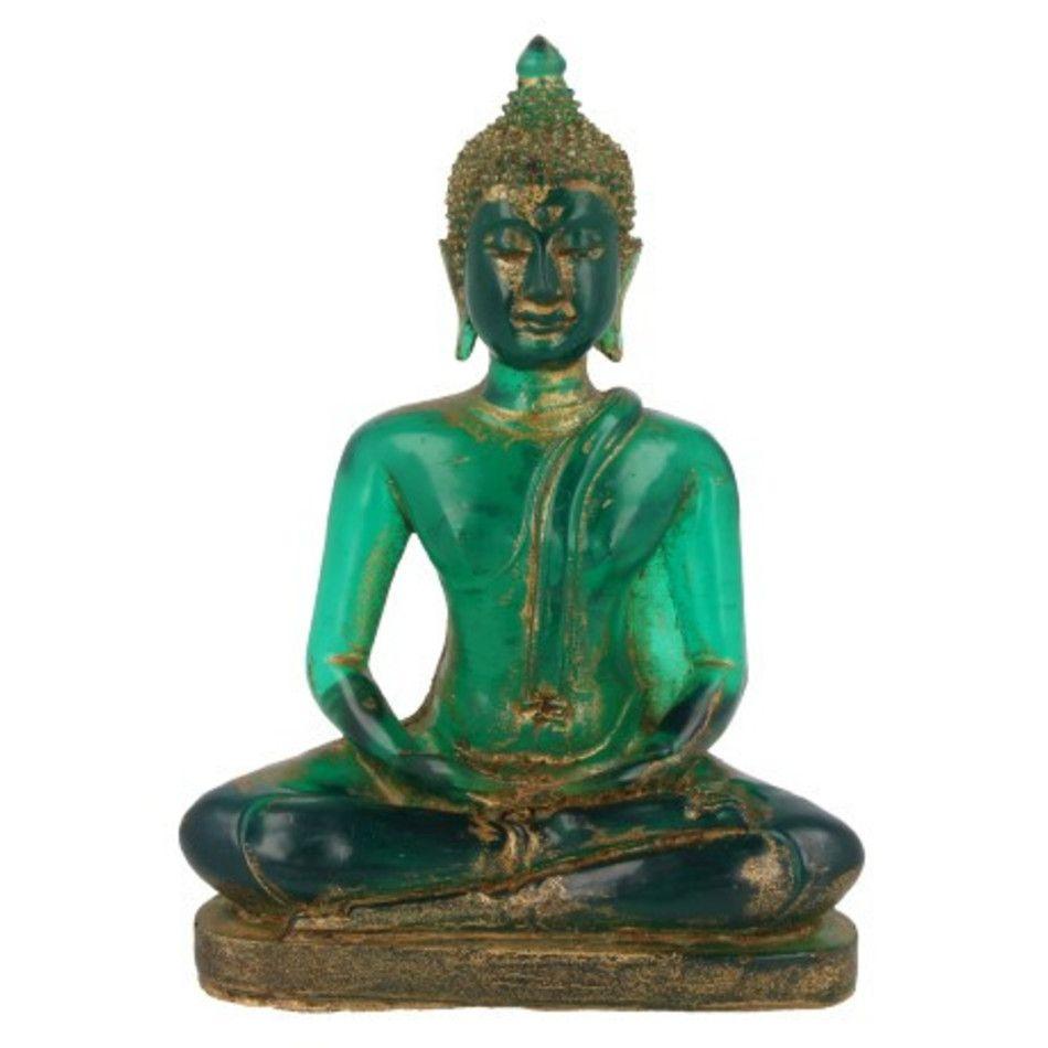 Boeddha klein groen