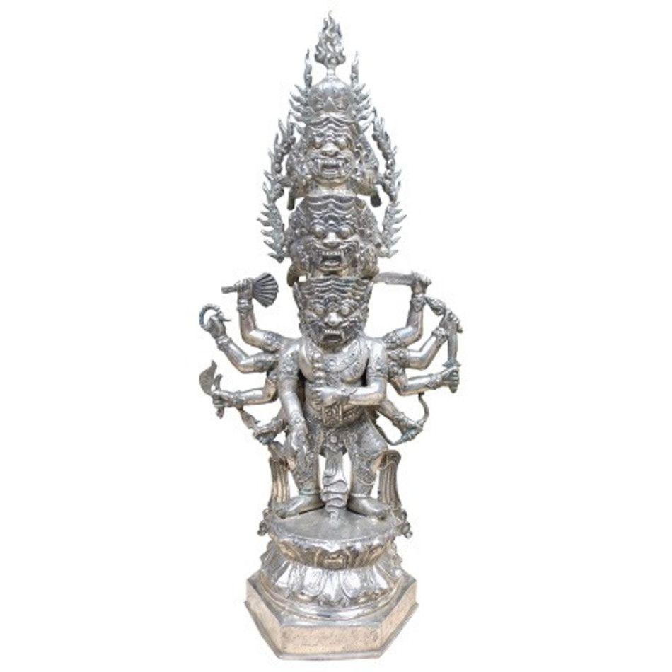 Boeddha meerhoofdig beeld brons nr.6