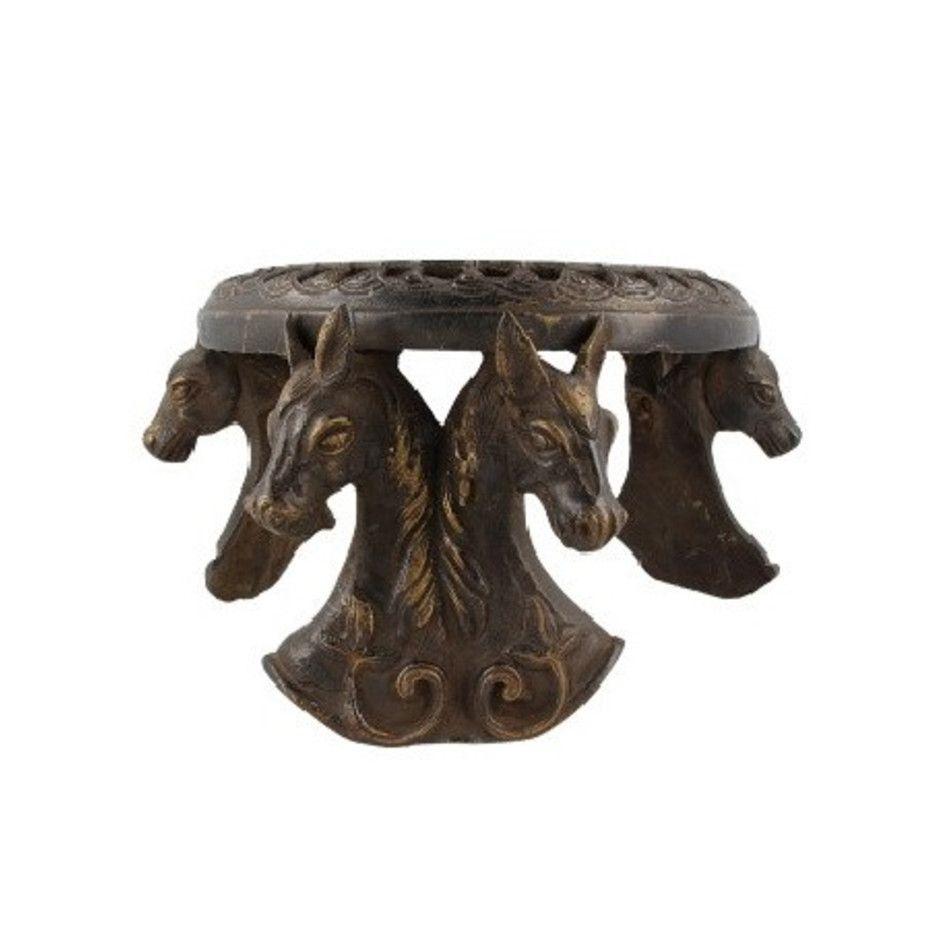 Bronzen tafel paarden nr.3