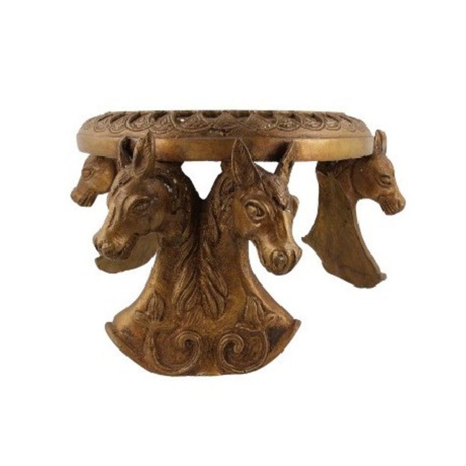 Bronzen tafel paarden nr.4