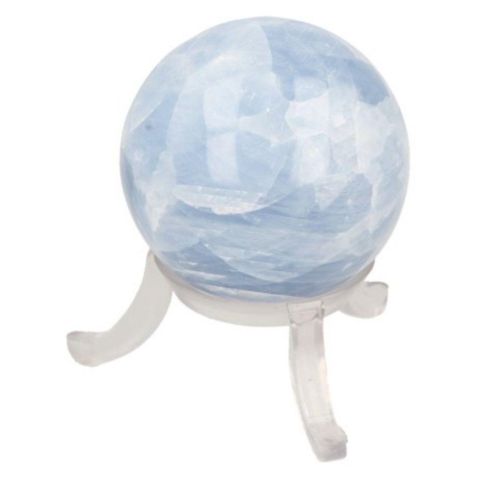 Calciet blauw edelsteen bol 40 mm