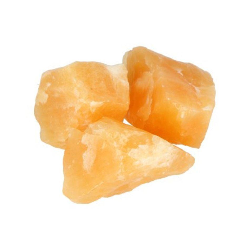 Calciet geel 250 gr. ruwe brokjes