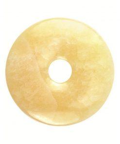 Calciet geel donut 40 mm