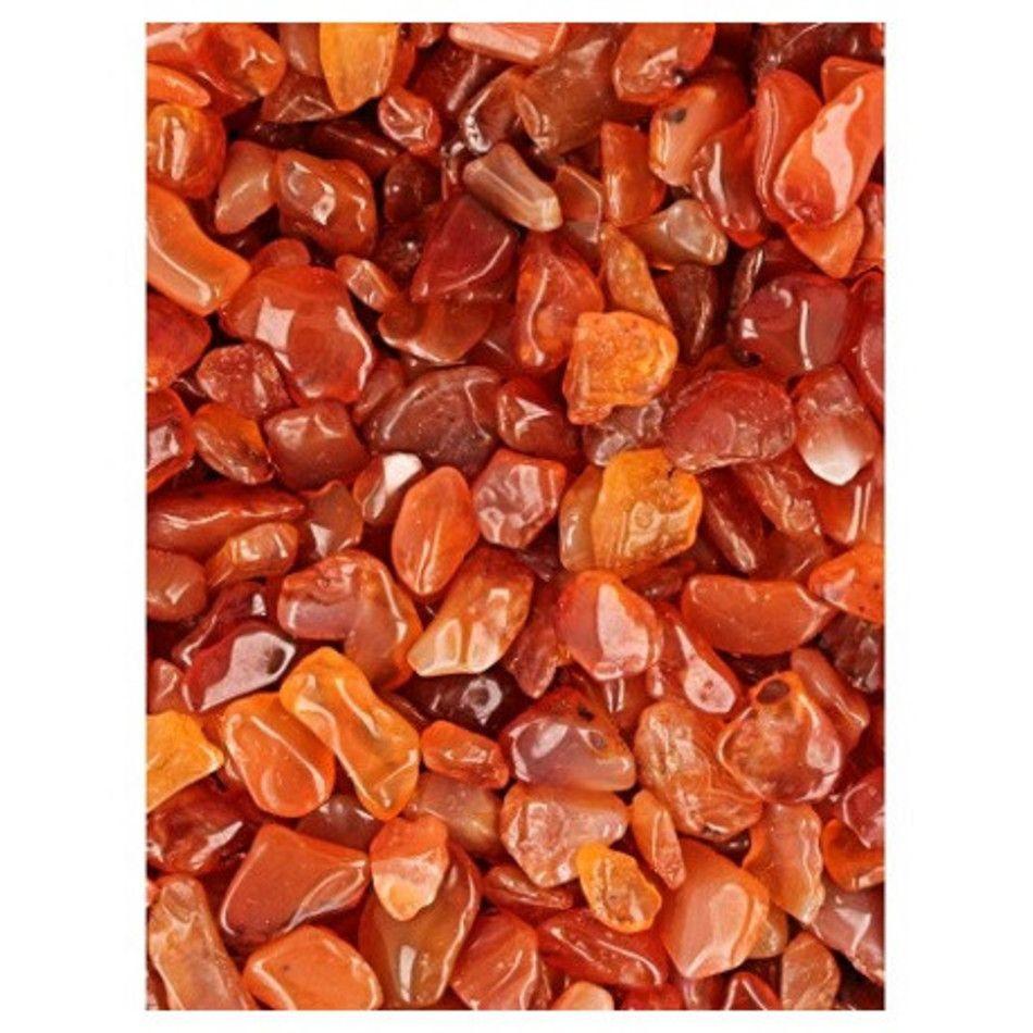 Carneool 100 gr. trommelstenen (mt1)