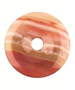 Carneool donut 40 mm