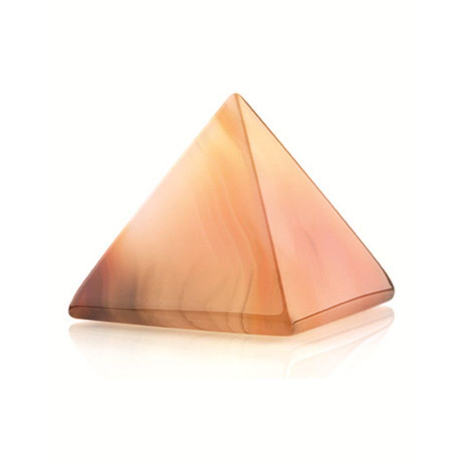 Carneool piramide 30 mm edelsteen