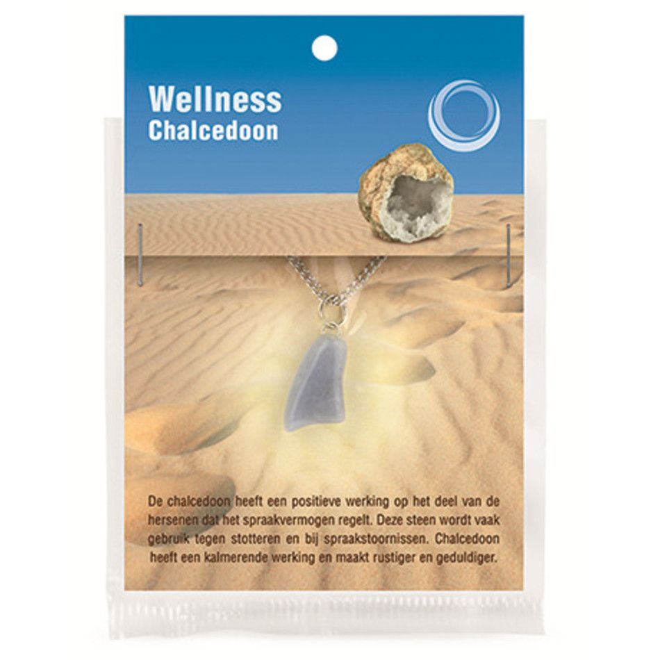 Chalcedoon gezondheids hanger