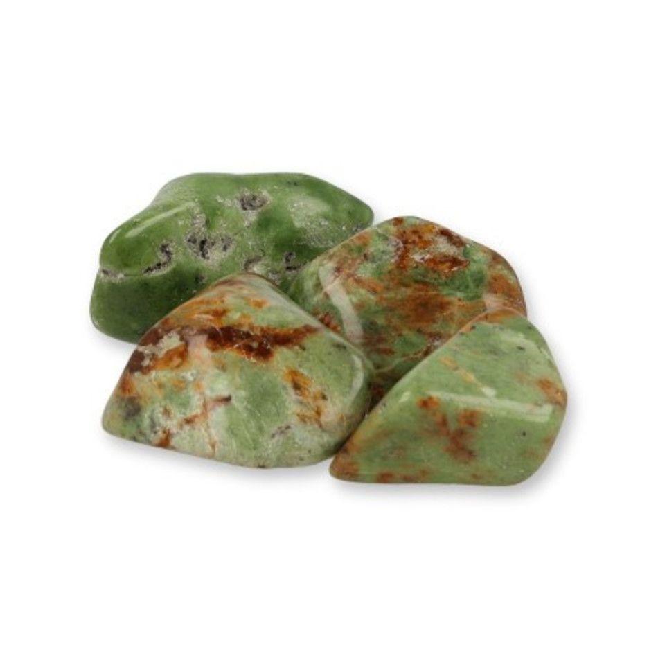 Chrysopraas Madagaskar trommelstenen (mt3), per gram