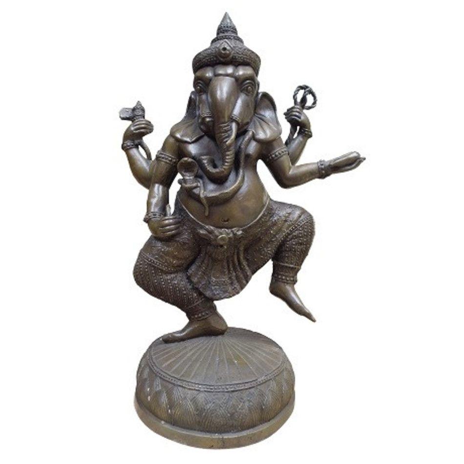 Dansende Ganesha beeld brons nr.2