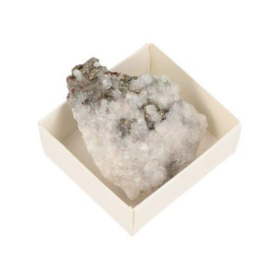 Doosje Calciet / Fluoriet / Pyriet